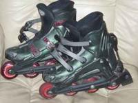 I have Rollerblade brand rollerblades in women's size