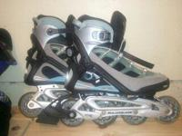 Womens Rollerblade Brand TFS Inline Skates-BARELY USED