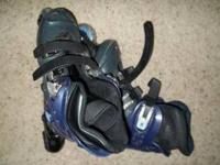 I have for sale two pairs of rollerblades both are in