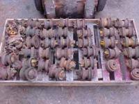 Parts Rollers For 350 And 450 Dozers. Sell All To One