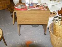 Rolling Desk or Microwave Cart $20.00 Very Good