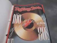 Approx 40 Rolling Stone mag. Range from 1982-1989 $15