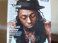 For sale is a Rolling Stone magazine dated April 16,
