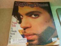 One years subscription of Rolling stone