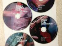 4 DVD set: Theatre Show, Stadium Show, Documentary, and