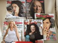 Hello music enthusiasts!  I'm offering 5 Rolling Stone