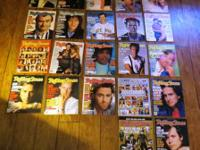 I have 38 Issues of Rolling Stone magazines for sale -