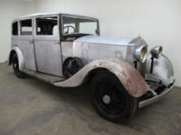 1934 Rolls Royce 25/30 1934 Rolls Royce 25/30. This