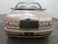2001 Rolls Royce Corniche Convertible2001 Rolls Royce