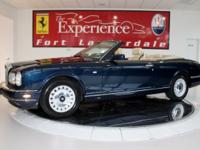 2000 Rolls-Royce Corniche ConvertibleThe Experience