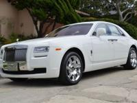 This 2011 Rolls-Royce Ghost 4dr 4dr Sdn Sedan features