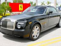 2009 Rolls Royce Phantom CoupeWith only 2,401 miles