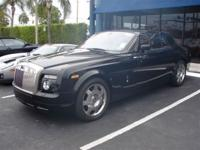 This 2009 Rolls-Royce Phantom Coupe 2dr Coupe features
