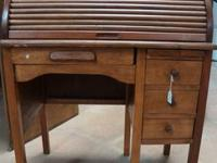 FOR SALE:.  SMALL ROLLTOP DESK.  FANTASTIC FOR A COVEY