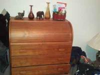 For sale $199 for ROLLTOP WOOD DESK CALL :. CAN PICKUP