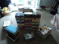 I have about 175 romance books, 7 cook books and some