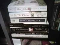 Nicholas Sparks Novels. Great condition $2 for each