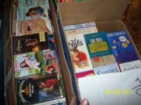 I HAVE TONS OF ROMANCE NOVELS. I TRIED TO SELL THEM AT