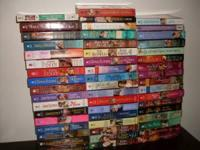 i have alot of romance paper back books i am asking