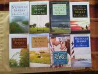 Lots of books to choose from, all like new. 8 Nicholas