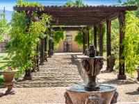 Casa Perea, known now as Villa Acequia, is romantic and