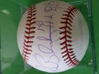 Ron Blomberg New York Yankees Baseball autograph on