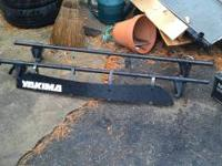 Clamp style roof rack with front air deflector text me
