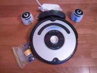 FOR SALE. Used but like new Roomba iRobot 560, comes