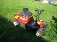 "Roper riding mower 30"" grass cut, Runs and cut"