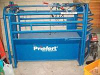 new, never used, must sell. Priefert. Call Laura ,
