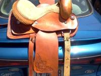 call or tx . nice saddle. not used much. 15 or 16 in