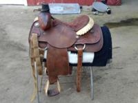 I have two roping saddles for sale. One is a Running