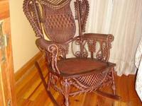 $850.  I bought a very cool rocking chair from the only
