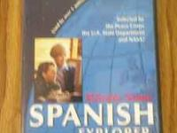 This is a CD Rom by Rosetta Stone, entitled Spanish