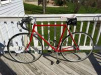I'm selling my first road bike. It is an early 80's