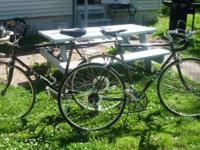 I have two Ross Gran Tour Road Bikes. They both have