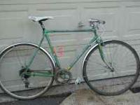 Here we have an old Ross road bike Details: 27inch