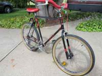 "Mens Ross 26"" diamond cruiser, from the 80's. 5 speed ,"