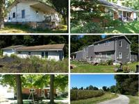 Ross Real Estate Auction ~ 85 Acres ~ 5 Homes Sat,