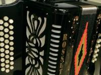 Rosetti Button Accordion Diatonic Key A-D-G Italian