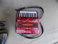 I have a Red Rossetti Accordion I am selling, it is in