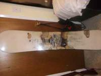 Rossignol snowboard size 153 no chips at all. There is