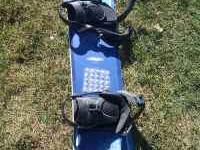 This is a great snowboard. It is a 154 and comes with