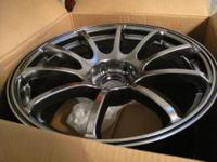 I have a Mint set of Rota G-Force wheels for sale.