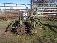 Rotary Hoe used for horse arena grooming. 3 point. Near