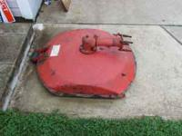 rotary mower for gravley tractor in good condition. 30