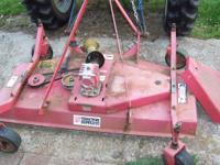 This 5 ft. tractor mounted 3 blade mower is in good