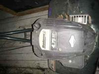 4.75 hp gas powered Bolens Rototiller great condition,