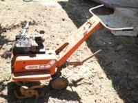I have a rototiller for sale. It needs some work, no