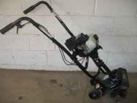 THIS IS A LIKE NEW BOLENS 31CC BL410 ROTOTILLER